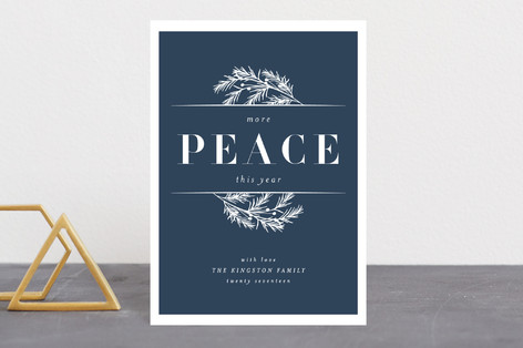 More Peace Holiday Petite Cards