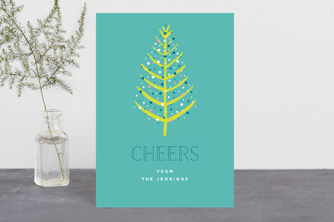 Colorful Tree Holiday Petite Cards