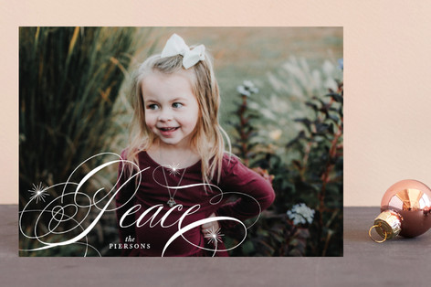 Elegant Peace Holiday Petite Cards