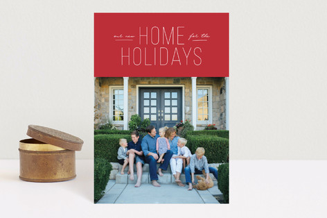 New Home For The Holidays Holiday Petite Cards
