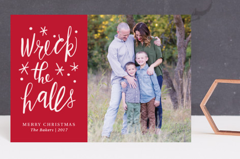 Wrecking the Halls Holiday Petite Cards