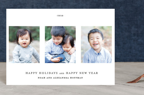 Date Stamp Holiday Petite Cards