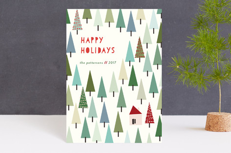 Christmas in the Mountains Holiday Petite Cards