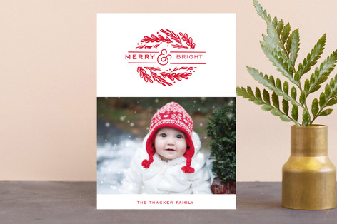 dynamic foliage Holiday Petite Cards