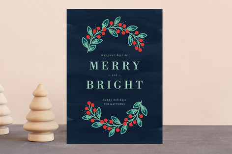 Bright and Merry Holiday Petite Cards