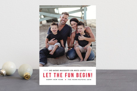 Fun Begins Holiday Petite Cards