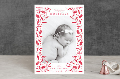 Boughs and Berries Holiday Petite Cards