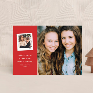 Merry then and now Holiday Petite Cards