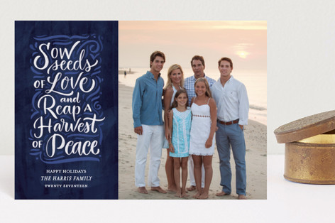 Harvest of Peace Holiday Petite Cards
