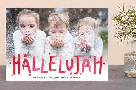 Hallelujah Cheer Holiday Petite Cards