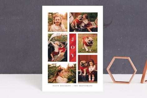 Candy Cane Joy Holiday Petite Cards
