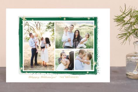 Paint Splash Frame Holiday Petite Cards