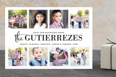 Family Album Holiday Petite Cards