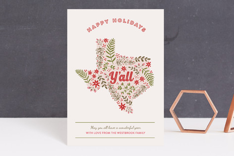 Happy Holidays Yall Holiday Petite Cards