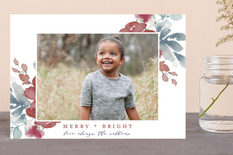 Sweeping Blooms Holiday Petite Cards
