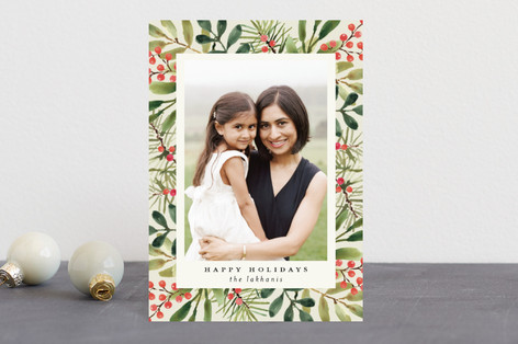 Tropical Pine Holiday Petite Cards