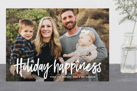 Wish for happiness Holiday Petite Cards