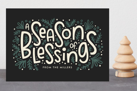 Season of Blessings Holiday Petite Cards