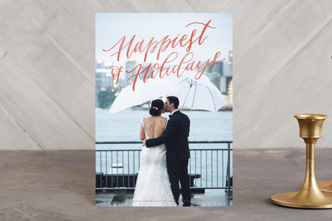 Married and Bright Holiday Petite Cards