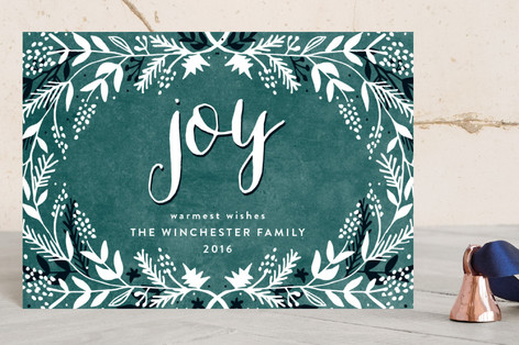 merry foliage Holiday Petite Cards