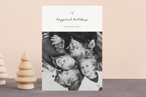 minimal blessings Holiday Petite Cards