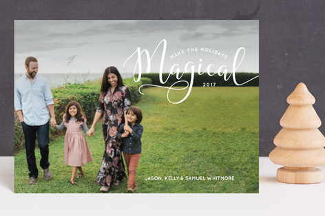 Make the Holidays Magical Holiday Petite Cards