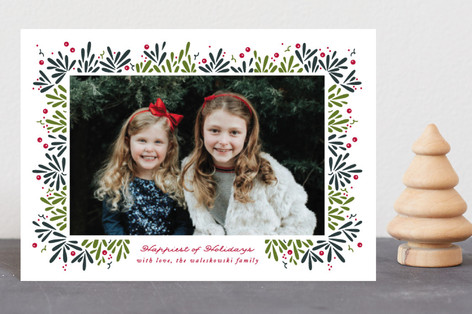 Berry Branches Holiday Petite Cards