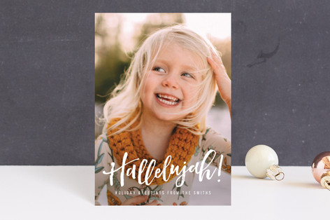 Hallelujah for the Holidays Holiday Petite Cards
