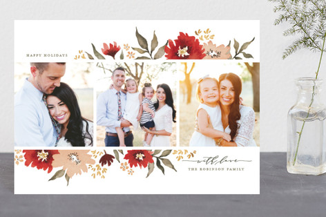 Poinsettia Gardens Holiday Petite Cards