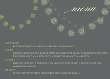 Celebrate the Season Holiday Party Menus