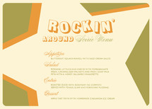 Rockin' Holiday Party Menus