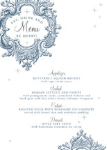 Winter Sparkle Holiday Party Menus
