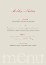 Cheers! Holiday Party Menus