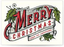 Vintage Christmas by GeekInk Design