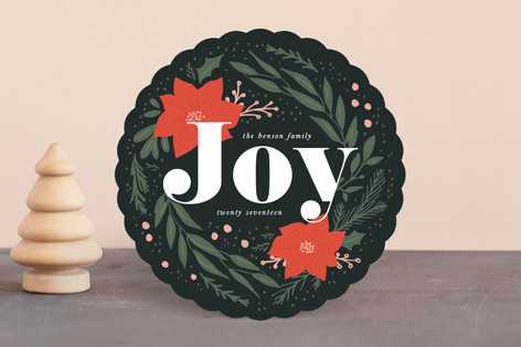 Botanical Joy Holiday Cards