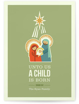 Isaiah 9:6 Holiday Non-Photo Cards