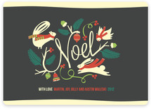 Woodland Noel Holiday Non-Photo Cards