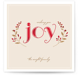 Serene Joy Holiday Non-Photo Cards