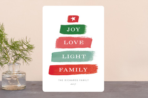 Different Strokes Holiday Cards