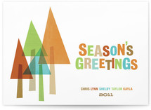 The Evergreens Holiday Non-Photo Cards