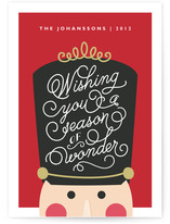 Nutcracker Wonder Holiday Non-Photo Cards