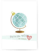 Holiday Globe Holiday Non-Photo Cards