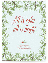 Calm & Bright Holiday Non-Photo Cards
