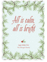 Calm &amp; Bright Holiday Non-Photo Cards