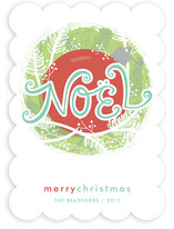 Nestled Noel Holiday Non-Photo Cards