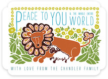 Peace to You Holiday Non-Photo Cards