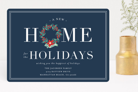Home for the Holidays Holiday Cards