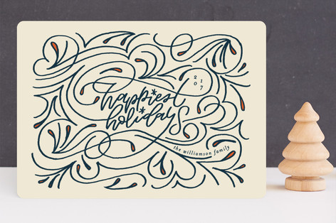 Happiest Holidays Holiday Cards