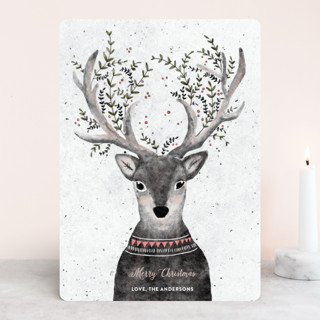 Reindeer Love Holiday Cards