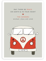 The Peace Van Holiday Non-Photo Cards